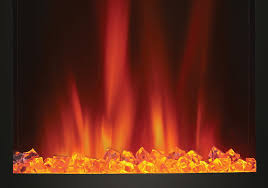 crystaline ember bed orange