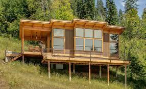Prefab A Frame House Timbercab A Prefab Timber Framed Cabin Fabcab Small House Bliss