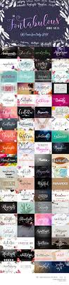 collage fonts free free natsuki font free pretty things for you