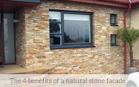 benefits of a natural stone facade