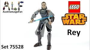<b>Lego Star Wars 75528</b> Rey - Lego Speed Build Review - YouTube