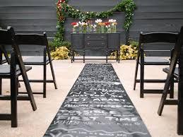 Very romantic backyard wedding decor ideas Budget Rustic Romantic Autumn Wedding Diy Network Rustic Romantic Diy Autumn Wedding On Budget Diy