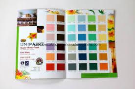 Decorative Wall Paint System Pantone Color Chart