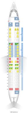 Crj 200 Seating Chart Delta Canadair Regional Jet 200 Exit Row 2017 Ototrends Net