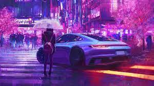 Cyberpunk Neon Wallpaper [1920x1080 ...