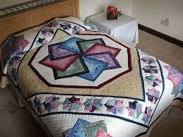 17 best Star Spin Quilting Ideas images on Pinterest | Cushions ... & Star Spin Quilt -- terrific smartly made Amish Quilts from Lancaster Adamdwight.com