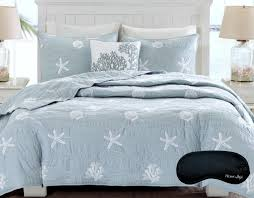 Coastal Comforters Bedding Sets – Ease Bedding with Style & Coastal Beach House Starfish Seashell 100% Cotton Queen Quilt Adamdwight.com