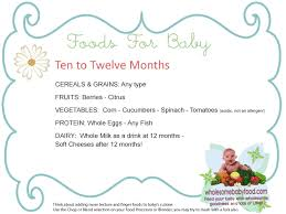 12 month introducing solids to your 10 month to 12 month old baby solid food