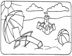 Small Picture Beach Scene Coloring Page And Coloring Pages Scenes esonme