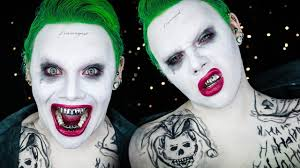 squad joker halloween costume makeup tutorial electra snow