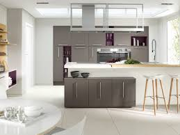 Fabulous Grey Kitchen Cabinet System And Free Standing Ceiling Storage Over  Island Added Built In Grey Cabinet As Modern Open Grey Kitchens Decors Feat  ...