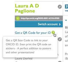 New Codes Orcid Qr - Id Friday Functionality
