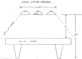 billiard room lighting fixtures. Pool Table Lights Height Find Right Billiard Room Lighting Fixtures