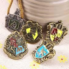 5pcs for harry potter hogwarts house metal pin badge brooch full set gift