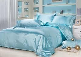california king bed duvet covers aqua blue silk bedding sets satin sheets california king queen full