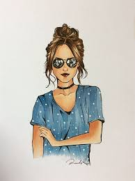Sunglasses In 2019 Womens Fashion Art Drawings Copic