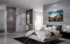 beautiful master bedroom with open bathroom open master bedroom and bathroom ideas rukinet