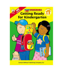 Coloring Pages Getting Ready For Kindergarten Workbook Carson