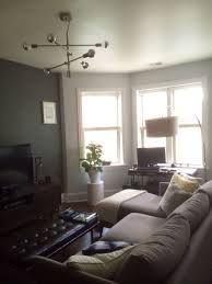 living room west elm mobile chandelier kenmore condo
