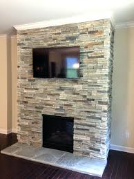 Dry Stacked Stone Veneer Fireplace Cost Thin