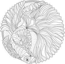 Small Picture Ocean Mandala Coloring Book Coloring Pages