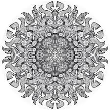 Download Advanced Mandala Coloring Pages Pdf Getwallpapersus
