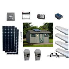Products Solar Power U0026 Lighting Kit For Sheds Garages U0026 Remote Solar Powered Lighting Kits