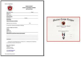 Eagle Scout Distinguished Citizenship Award