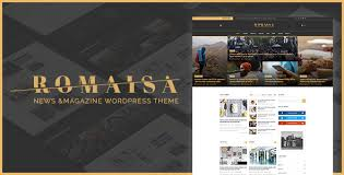 Psd Website Templates Enchanting Romaisa News Magazine PSD Template By Hazemtawfik ThemeForest