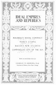 Is your network connection unstable or browser outdated? Ideal Empires And Republics Online Library Of Liberty
