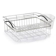 Kitchen Dish Rack Polder Compact Dish Rack Kth 250 The Home Depot