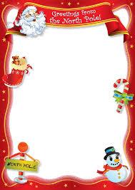 Christmas Stationery Templates Word Free Printable Borders For