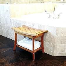 welland 24 teak shower bench with handles teak shower benches teak shower benches wall mounted
