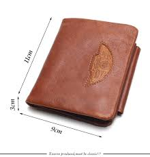 Design We Wallets Us 12 48 50 Off Tauren Men Wallet 100 Design Men Trifold Wallets Fashion Purse Card Holder Wallet Man Genuine Leather With Zipper Coin Pockets In