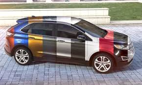 2019 Ford Edge Color Chart 2015 Ford Edge Visualizer All 10 Colors From Every Angle