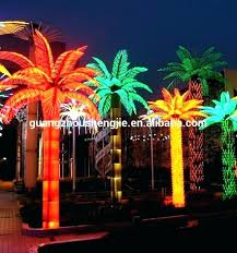 artificial outdoor trees with lights palm tree light outdoor lighted palm tree led artificial decorative outdoor