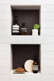 7 diffe kinds of shower niches and