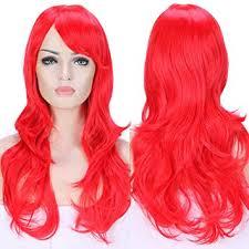 s noilite 23 58cm women long wavy hair wig fashion cosplay anime