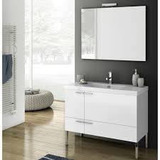 39 Bathroom Vanity Modern 39 Inch Bathroom Vanity Set With Ceramic Sink Glossy