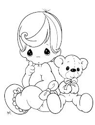 Small Picture Awesome Baby Girl Coloring Pages Print Pictures Printable