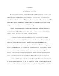 nursing essay example co nursing essay example