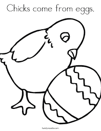 Easy Easter Coloring Pages Festival Collections