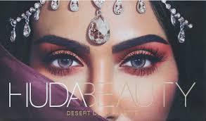 we just got our first look inside the new huda beauty desert dusk eyeshadow palette