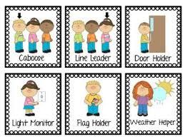 Job Pocket Labels Preschool Job Chart Preschool Jobs