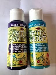 patio paint craft paints outdoor acrylic paint art patio paint choose robins egg blue or purple outdoor acrylic paint for metal outdoor acrylic paint