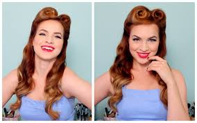 1940 039 s 50 039 s pinup hair and