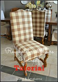 How to Reupholster a Dining Chair - Lilacs and LonghornsLilacs and ...