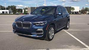 The All New 2019 Bmw X5 Redesigned Phytonic Blue Xline Youtube
