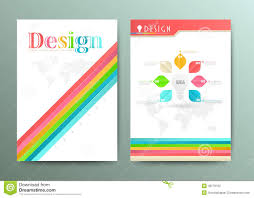 brochure flyer design layout template digital marketing design abstract vector brochure template flyer layout stock photography