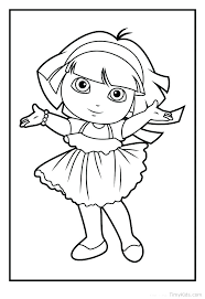 Printable Coloring Pages Dora Coloring Pages Coloring Pages Coloring